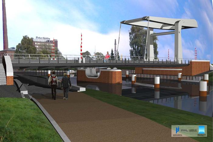 Hecker Bau – Brückenbau Hafenspange Elmshorn