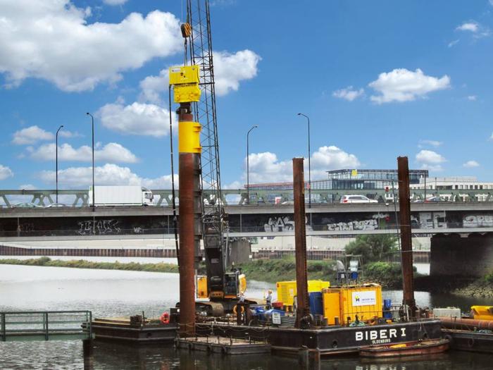 Hecker Bau – Ertüchtigung der Binnenschiffsliegeplätze Bremen