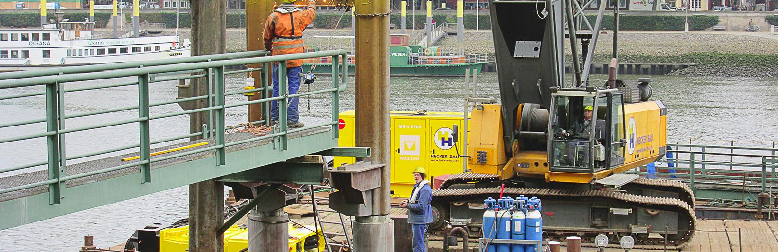 Hecker Bau – Ingenieur- und Wasserbau